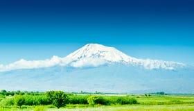 ararat armenia berg Royaltyfria Bilder