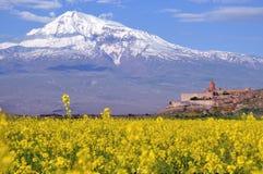 Ararat en Armenia Imagen de archivo libre de regalías