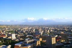 Ararat et Yerevan Photo libre de droits