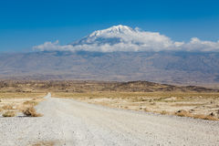 Ararat - highest mountain in Turkey. Mt. Ararat - highest mountain in Turkey Royalty Free Stock Photos