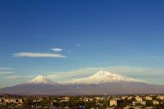 Ararat mounatain Στοκ Εικόνες