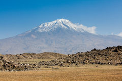 Ararat. Mount Ararat in Turkey. See my other works in portfolio Royalty Free Stock Image