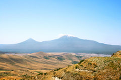 Ararat mountain. View of Ararat mountain from Armenia royalty free stock images