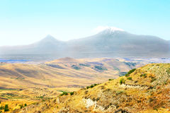 Ararat mountain. View of Ararat mountain from Armenia Stock Photography