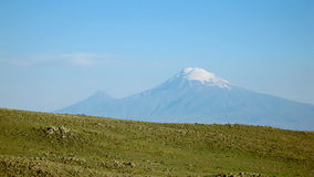 Ararat mountain. View from Armenia Royalty Free Stock Photography