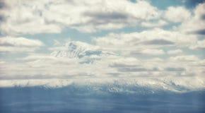 Ararat Mountain. The Ararat Mountain in Armenia royalty free stock image