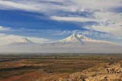 Ararat mountains Stock Image