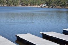 Arareco Lake Stock Image