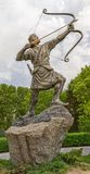 Arash the Archer whole statue Stock Photography