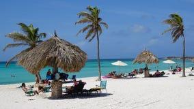 Arashi Beach in Aruba Stock Images