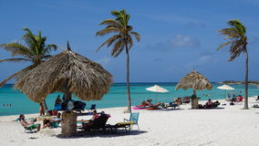 Arashi Beach in Aruba Stock Photos