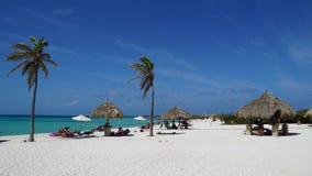 Arashi Beach in Aruba Royalty Free Stock Photo