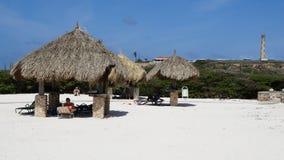 Arashi Beach in Aruba Royalty Free Stock Image
