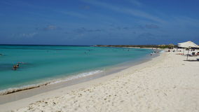 Arashi Beach in Aruba Stock Photo