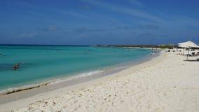 Arashi Beach in Aruba Stock Photo