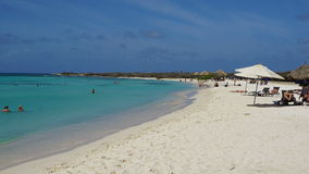 Arashi Beach in Aruba Stock Photography