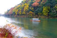 Arashiyama Κιότο Ιαπωνία κατά τη διάρκεια του φθινοπώρου Στοκ Εικόνα