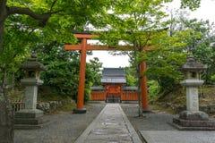 Arashiyama ναών Shoganji Στοκ εικόνες με δικαίωμα ελεύθερης χρήσης