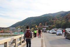 Arashiyama στο Κιότο, Ιαπωνία Στοκ φωτογραφία με δικαίωμα ελεύθερης χρήσης
