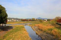 Arashiyama στο Κιότο, Ιαπωνία Στοκ εικόνες με δικαίωμα ελεύθερης χρήσης