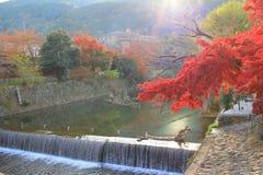 Arashiyama στο Κιότο, Ιαπωνία Στοκ εικόνα με δικαίωμα ελεύθερης χρήσης