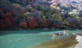 Arashiyama του Κιότο Ιαπωνία Στοκ εικόνα με δικαίωμα ελεύθερης χρήσης