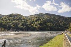 Arashiyama-Ansicht Stockbilder