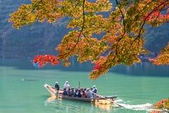 Arashiyama. Autumn color season at Arashiyama, Kyoto , Japan Royalty Free Stock Photography