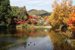 Arashiyama di Kyoto Giappone Immagine Stock