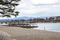 Arashiyama Kyoto Giappone Fotografia Stock Libera da Diritti
