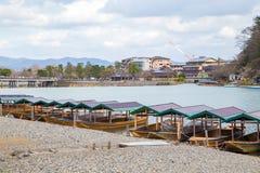 Arashiyama Kyoto Giappone Immagini Stock Libere da Diritti