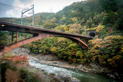 Arashiyama, Kyoto, Japão Foto de Stock Royalty Free