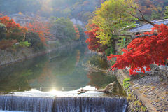 Arashiyama in Kyoto, Japan Royalty Free Stock Photos