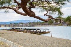 Arashiyama Kyoto japan Stock Photos