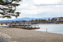 Arashiyama Kyoto Japon Photographie stock libre de droits