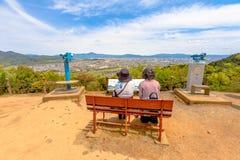 Arashiyama małpy park Obraz Royalty Free