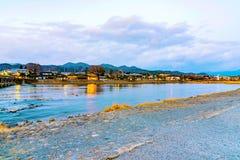 Arashiyama scenic landscape. In Kyoto Royalty Free Stock Image