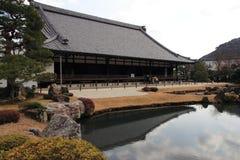 Arashiyama tempel Arkivfoto