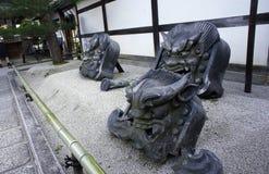 Arashiyama - Tenryuji寺庙恶魔 免版税库存照片