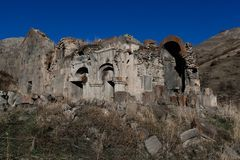 Arates monastery. Is one of the many middle ages monastery in Armenia Stock Photography