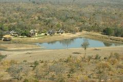 Arathusa Safari Lodge. Aerial view of Arathusa Safari lodge in Sabi Sands park Stock Image