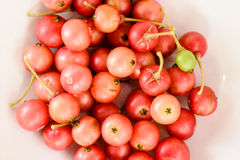 Aratilis fruits in white background Stock Photo