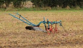 Aratro d'agricoltura d'annata Immagine Stock Libera da Diritti