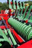 Aratro d'agricoltura gigante Fotografia Stock