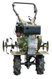 Aratro del trattore della mano Immagini Stock Libere da Diritti