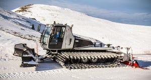 Aratro di neve Immagine Stock Libera da Diritti