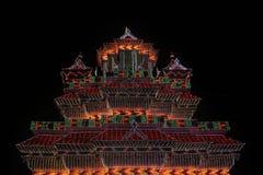 Arattupuzha Pooram Imagen de archivo libre de regalías