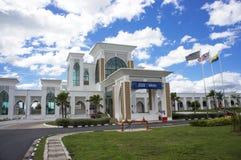 Arau Train Station Entrance Royalty Free Stock Photos