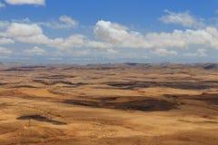 Arava沙漠 库存照片