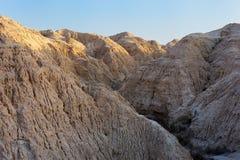 arava ήλιος ακτίνων ερήμων πρώτο Στοκ Εικόνα